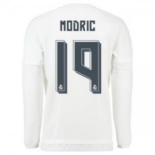 Maillot Real Madrid Manche Longue Modric Domicile 2015 2016
