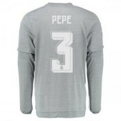 Maillot Real Madrid Manche Longue Pepe Exterieur 2015 2016