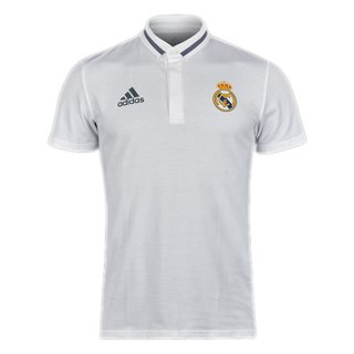 Maillot Real Madrid Polo Blanc 2017