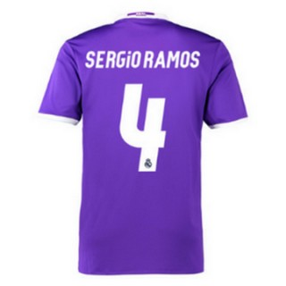 Maillot Real Madrid Sergio Ramos Exterieur 2016 2017