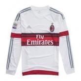 Maillot Ac Milan Manche Longue Exterieur 2015 2016