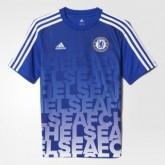 Maillot Avant-Match Chelsea Bleu 2016