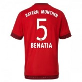 Maillot Bayern Munich Benatia Domicile 2015 2016