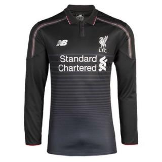 Maillot Liverpool Manche Longue Troisieme 2015 2016