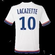 Maillot Lyon Lacazette Domicile 2015 2016