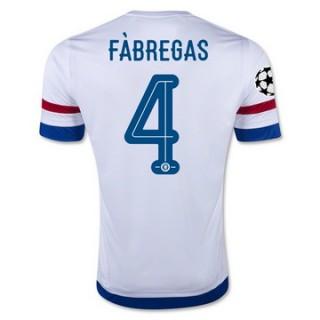 Maillot Chelsea Fabregas Exterieur 2015 2016