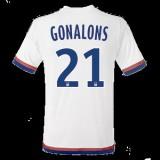 Maillot Lyon Gonalons Domicile 2015 2016