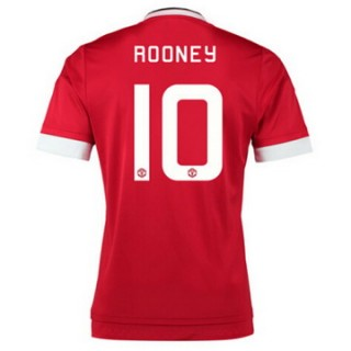 Maillot Manchester United Rooney Domicile 2015 2016
