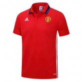 Maillot Polo Manchester United Rouge 2016 2017