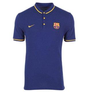 Maillot Barcelone Polo Bleu 2016