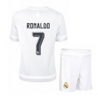 Maillot Real Madrid Enfant Ronaldo Domicile 2015 2016