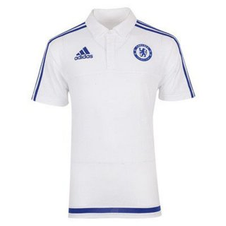 Maillot Chelsea Polo Blanc 2016