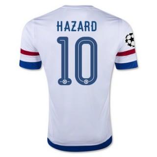 Maillot Chelsea Hazard Exterieur 2015 2016