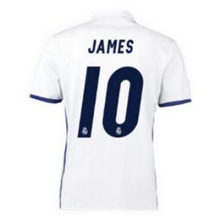 Maillot Real Madrid James Domicile 2016 2017