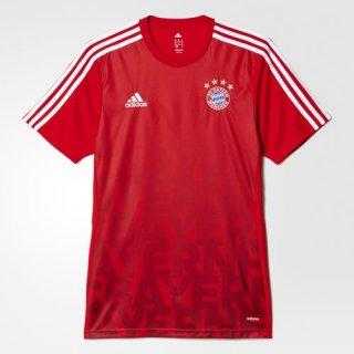 Maillot Avant-Match Bayern Munich Rouge 2016