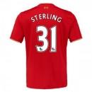 Maillot Liverpool Sterling Domicile 2015 2016