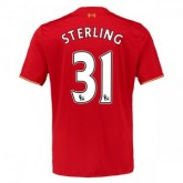 Maillot Liverpool Sterling Domicile 2015 2016