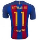Maillot Barcelone Neymar Jr Domicile 2016 2017