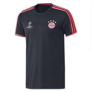 Maillot Bayern Munich Champion Formation Noir 2015 2016