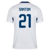 Maillot Inter Milan Santon Exterieur 2015 2016