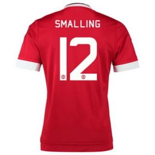 Maillot Manchester United Smalling Domicile 2015 2016