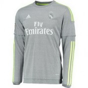 Maillot Real Madrid Manche Longue Exterieur 2015 2016