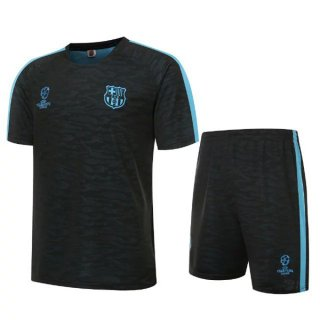 2017Maillot Formation Barcelone Champion Noir 2016