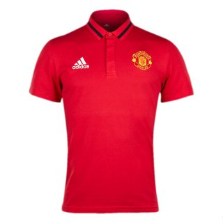 Acheter Maillot Manchester United Polo Rouge 2016