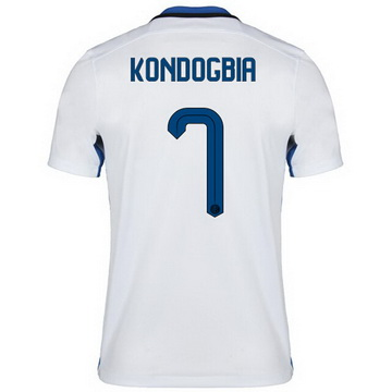 Collection Maillot Inter Milan Kondogbia Exterieur 2015 2016