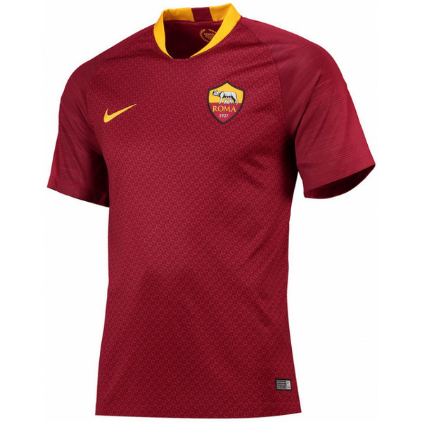 2018 2019 Homme Maillot AS Roma Rome Domicile
