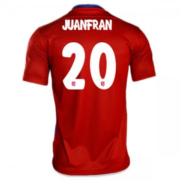 Maillot Atletico De Madrid Juanfrab Domicile 2015 2016 Collection Pas Cher
