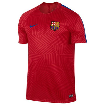 Maillot Avant-Match Barcelone Rouge 2016 2017 Magasin Lyon