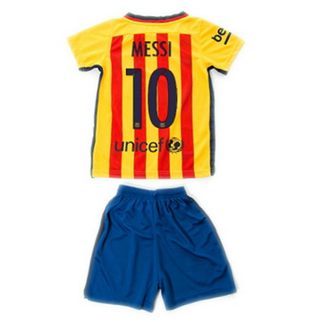 Maillot Barcelone Enfant Messi Exterieur 2015 2016 Europe Site