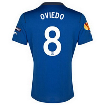 Maillot Everton Oviedo Domicile 2014 2015 Pas Cher