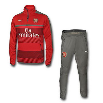 Maillot Formation Ml Arsenal Rouge 2016 2017 Soldes France