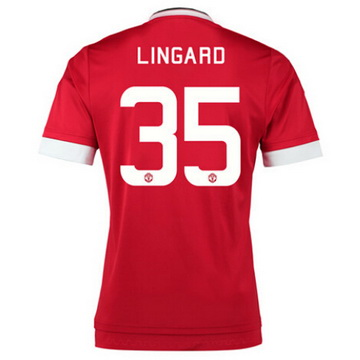 Maillot Manchester United Lingard Domicile 2015 2016 Pas Cher France