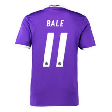 Maillot Real Madrid Bale Exterieur 2016 2017 Code Promo France