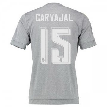 Maillot Real Madrid Carvajal Exterieur 2015 2016 Europe Site