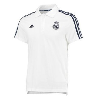 Maillot Real Madrid Polo Blanc 2016 à Bas Prix