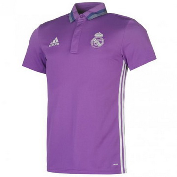 Maillot Real Madrid Polo Violet 2016 2017 Achat à Prix Bas