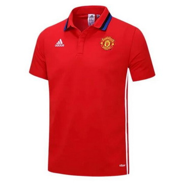 Nouvelles Maillot Polo Manchester United Rouge 2016 2017