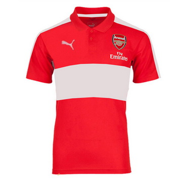 Officiel Maillot Arsenal Polo Rouge 2016 2017