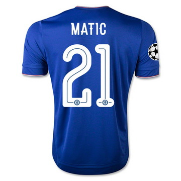 Promotions Maillot Chelsea Matic Domicile 2015 2016