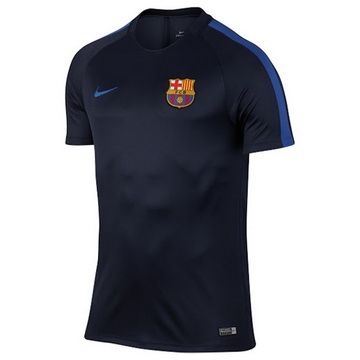Remise Maillot Formation Barcelone Bleu Marine 2016 2017