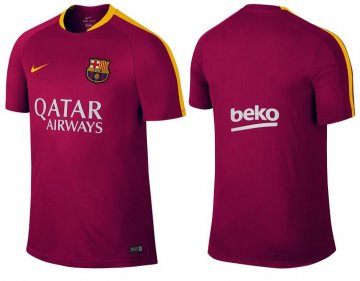 Site Officiel Maillot Formation Barcelone Rouge 2016