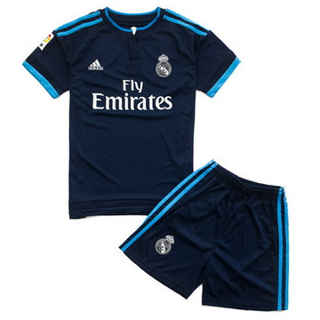 Vente Privee Maillot Real Madrid Enfant Troisieme 2015 2016