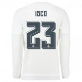 Maillot Real Madrid Manche Longue Isco Domicile 2015 2016