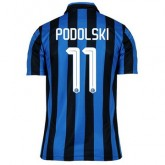 Maillot Inter Milan Podolski Domicile 2015 2016