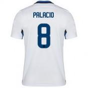 Maillot Inter Milan Palacio Exterieur 2015 2016