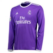 Maillot Real Madrid Manche Longue Exterieur 2016 2017